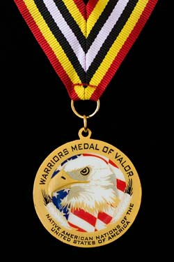 The Warriors Medal of Valor, 2006, © Mickey Cox 2006
